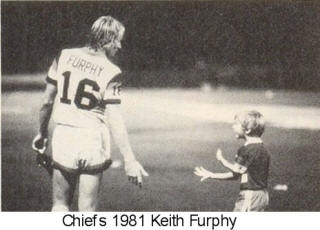 Atlanta Chiefs 81 Home Back Keith Furphy