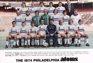NASL Soccer Philadelphia Atoms 74 Home Team