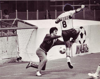 NASL Soccer Philadelphia Atoms 74-75 Indoor Goalie Norm Wingert