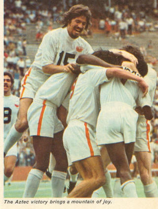 NASL Los Angeles Aztecs 1974 Home Jose Lopez