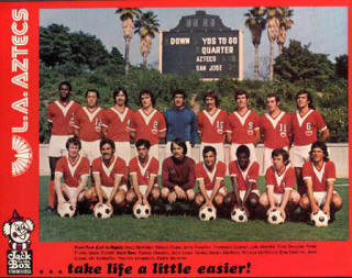 NASL Los Angeles Aztecs 1974 Road Team