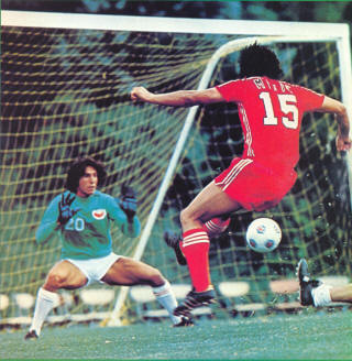 San Jose Earthquakes Los Angeles Aztecs 1976 Ilija Mitic Bill Mishalow