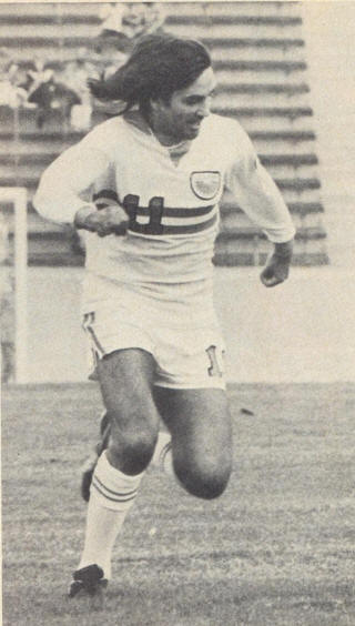 NASL Los Angeles Aztecs 76 Home George Best