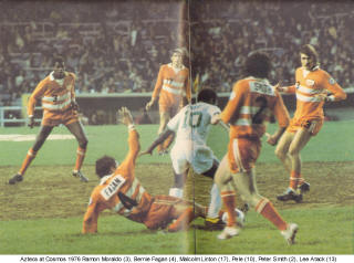 NASL Soccer Los Angeles Aztecs 76 Road Back Bernie Fagan
