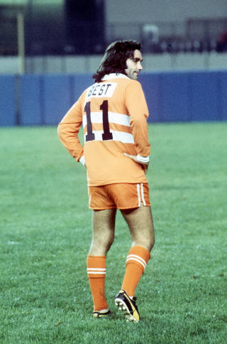 NASL Los Angeles Aztecs 76 Road Back George Best