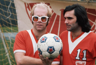 NASL Los Angeles Aztecs 76 Road George Best, Elton John