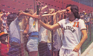 NASL Los Angeles Aztecs 1977 Home George Best