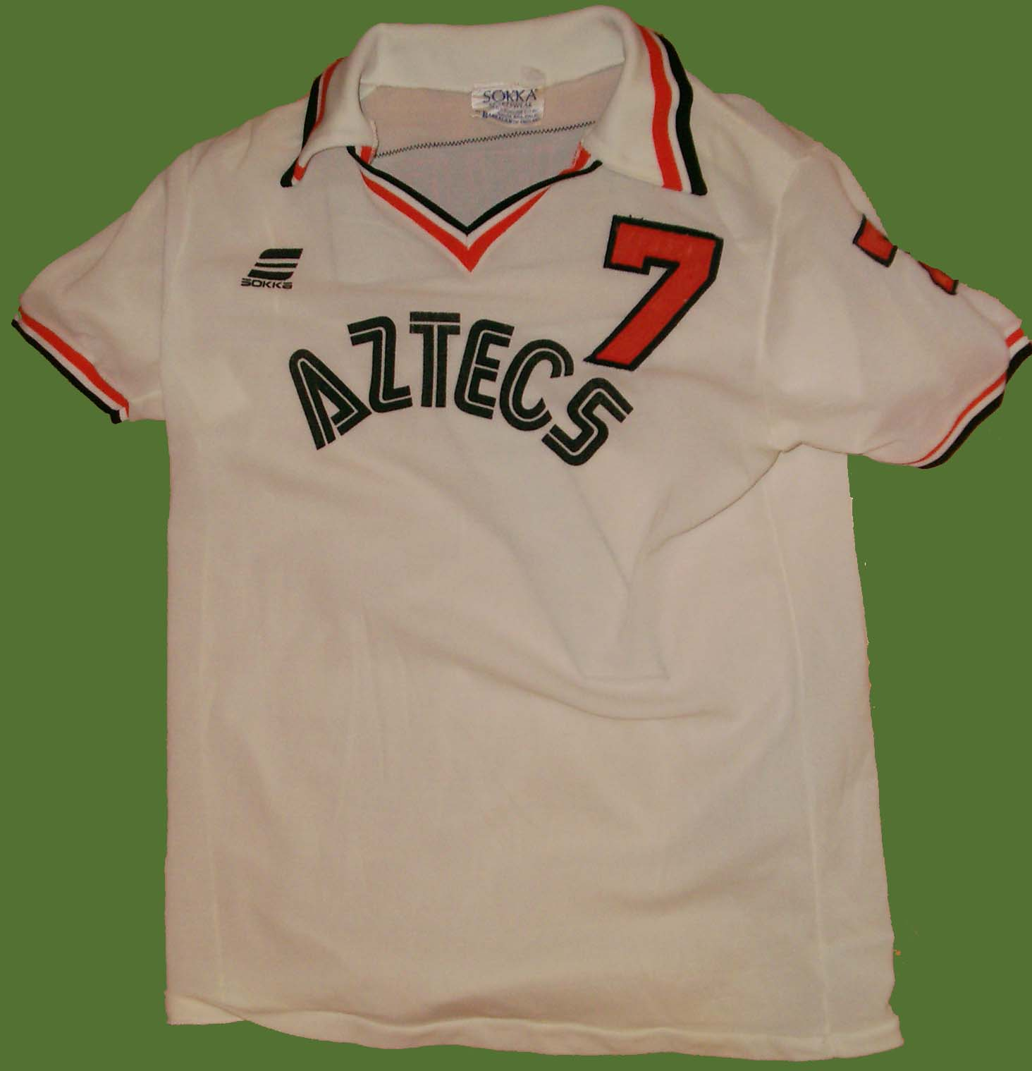 NASL Los Angeles Aztecs 1977 Home Jersey Steve David