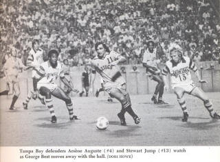 NASL Los Angeles Aztecs Rowdies 1977 Road George Best Stewart Jump