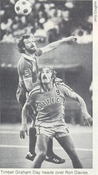 Los Angeles Aztecs 1977 Road Ron Davies