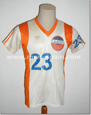 NASL Los Angeles Aztecs 79 Home Jersey Sanchez Galindo