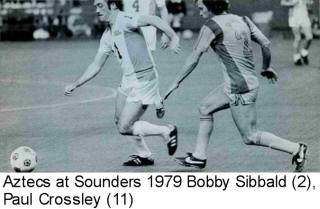 NASL Los Angeles Aztecs Sounders 1979 Road Back Bobby Sibbald Paul Crossley