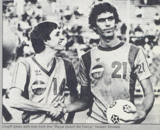 NASL Los Angeles Aztecs 79 Road Hubert Smeets