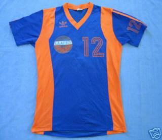NASL Los Angeles Aztecs 1979 Road Jersey Sammy Llewellyn