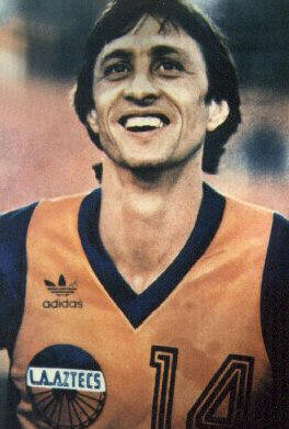 NASL Los Angeles Aztecs 1979 Road Johan Cruyff