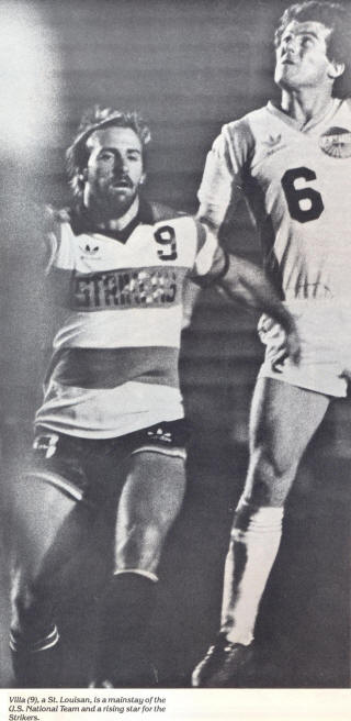 NASL Soccer Los Angeles Aztecs 80 Home Alan Merrick