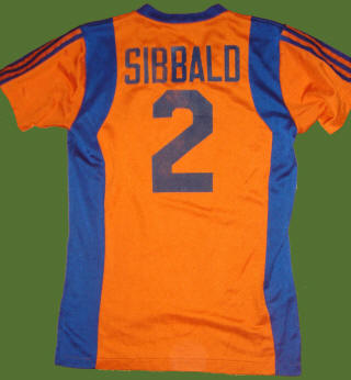 NASL Los Angeles Aztecs 80 Road Jersey Bob Sibbald Back