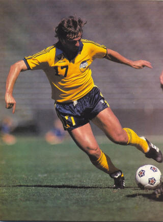 NASL Los Angeles Aztecs 1981 Home Luis Fernando