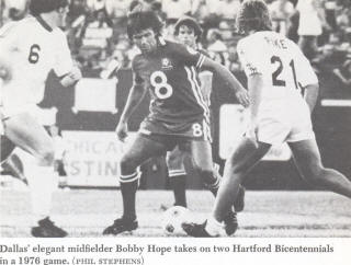 NASL Soccer Bicentennials 76 Home Geoff Pike Back