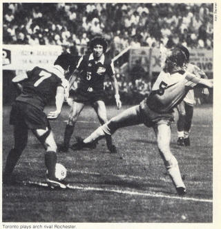 NASL Soccer Toronto Blizzard 79 Road Willie McVie