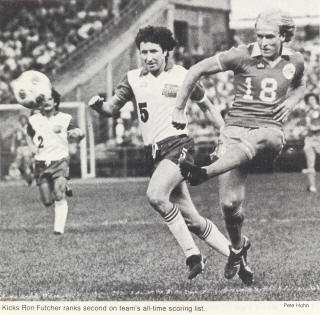 Toronto Blizzard 79-80 Home Willie McVie