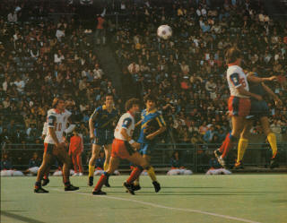 Toronto Blizzard 80 Home Back Willie McVie, Franks, Calvert, Lancers