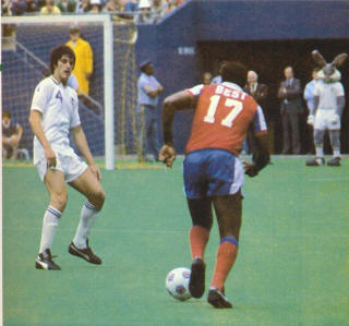 NASL Soccer New York Cosmos Blizzard 1981 Road Back Clyde Best Jeff Durgan