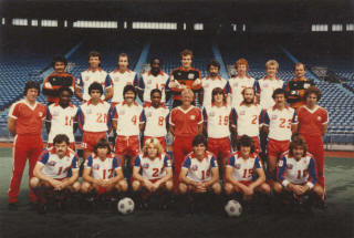 NASL Soccer Toronto Blizzard 82 Home Team