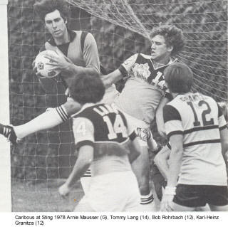 NASL Soccer Colorado Caribous 78 Road Back Tommy Lang