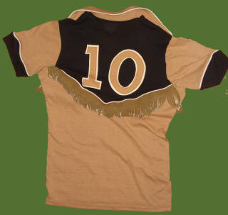 NASL Soccer Colorado Caribous 78 Road Jersey Louie Nanchoff Back