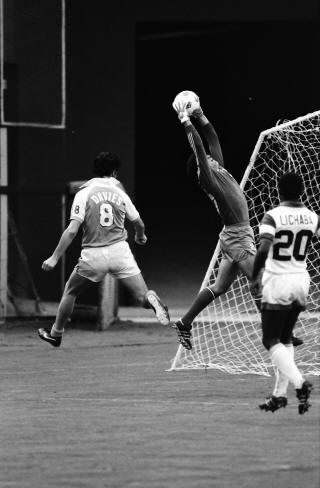 Chiefs 80 Goalie Lou Cioffi, Sounders (3)