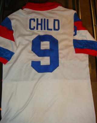 Chiefs 81 Home Jersey Paul Child Back