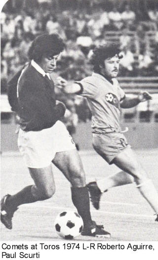 NASL Soccer Baltimore Comets 74 Home Paul Scurti