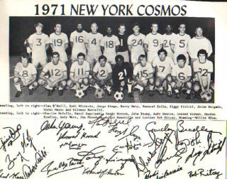 NASL Soccer New York Cosmos 71 Home Team 2