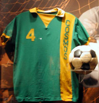 NASL Soccer New York Cosmos 72-75 Road Jersey Werner Roth