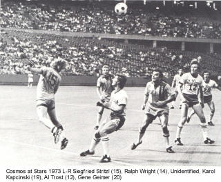 NASL Soccer New York Cosmos 73 Home Ralph Wright