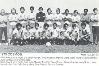 NASL Soccer New York Cosmos 75 Home Team