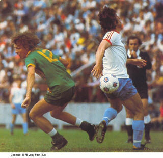 NASL Soccer New York Cosmos 75 Road Back Joey Fink