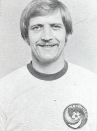 NASL Soccer New York Cosmos 76 Head Keith Eddy