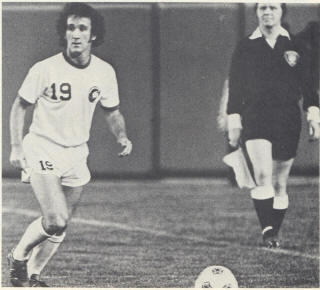 NASL Soccer New York Cosmos 76 Home Charlie Mitchell