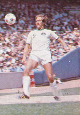 NASL Soccer New York Cosmos 76 Home Keith Eddy