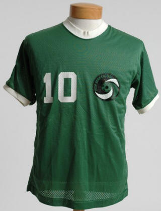 NASL Soccer New York Cosmos 1976 Road Jersey Pele