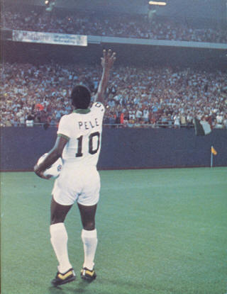 NASL Soccer New York Cosmos 1977 Home Back Pele