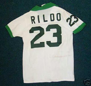 NASL Soccer New York Cosmos 1977 Home Jersey  Rildo Back