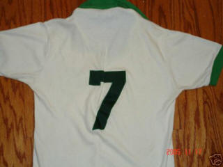 NASL Soccer New York Cosmos 77 Home Jersey Tony Field No Name