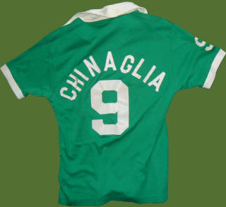 NASL Soccer New York Cosmos 19977 Road Jersey Giorgio Chinaglia Back