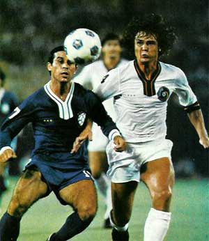 NASL Soccer New York Cosmos 78 Exhibition Werner Roth