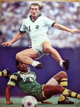 NASL Soccer New York Cosmos 78 Home Steve Hunt