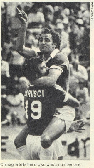 NASL Soccer New York Cosmos 78 Road Back Bob Iarusci