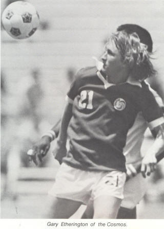 NASL Soccer New York Cosmos 78 Road Gary Etherington 2